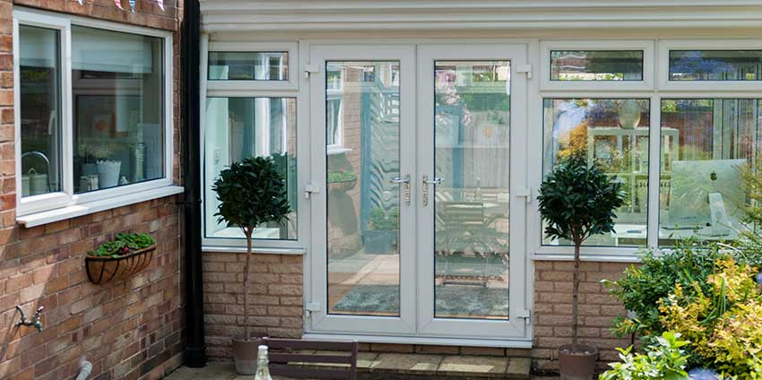 French patio doors jack of glass for Conservatory sliding doors