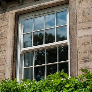 white upvc sliding sash window glazing - how to demist double glazing