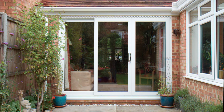 French patio doors jack of glass for White upvc patio doors
