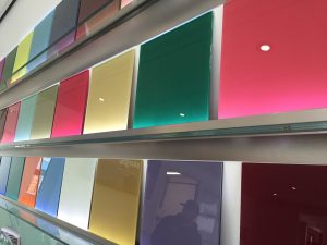 coloured glass splashbacks