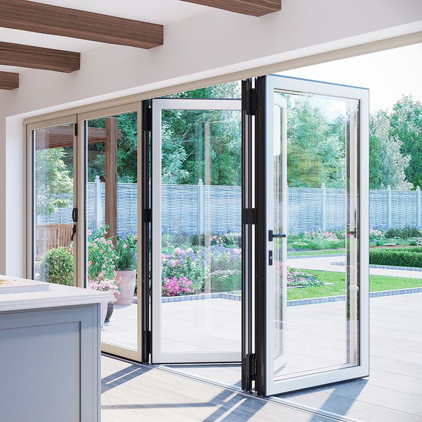 Steel Bi-Folding Doors Buckinghamshire