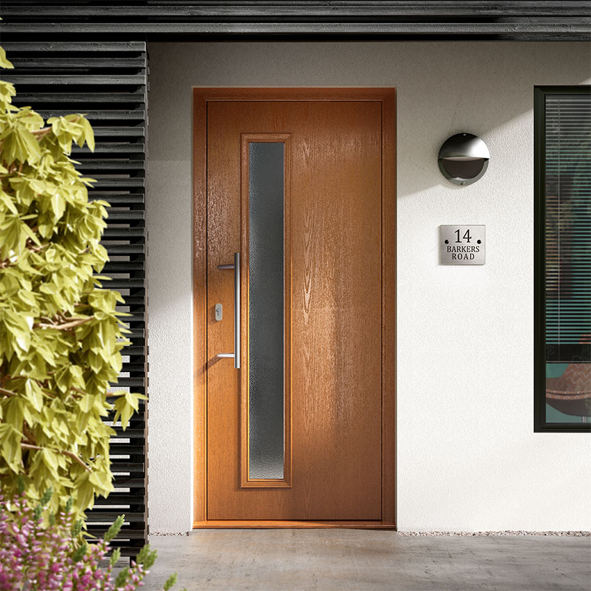 Oak effect composite door High Wycombe