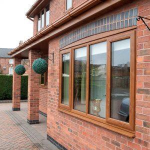 golden oak upvc casement window - how to demist double glazing