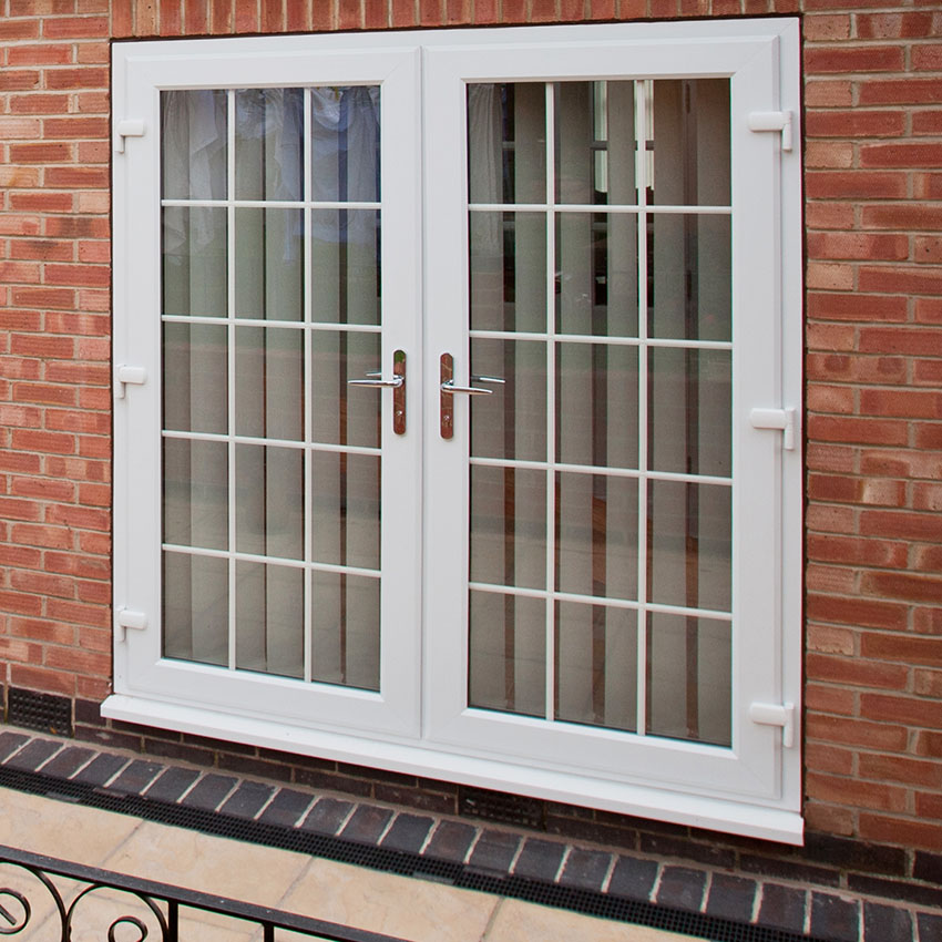 Modern uPVC French Doors Buckinghamshire