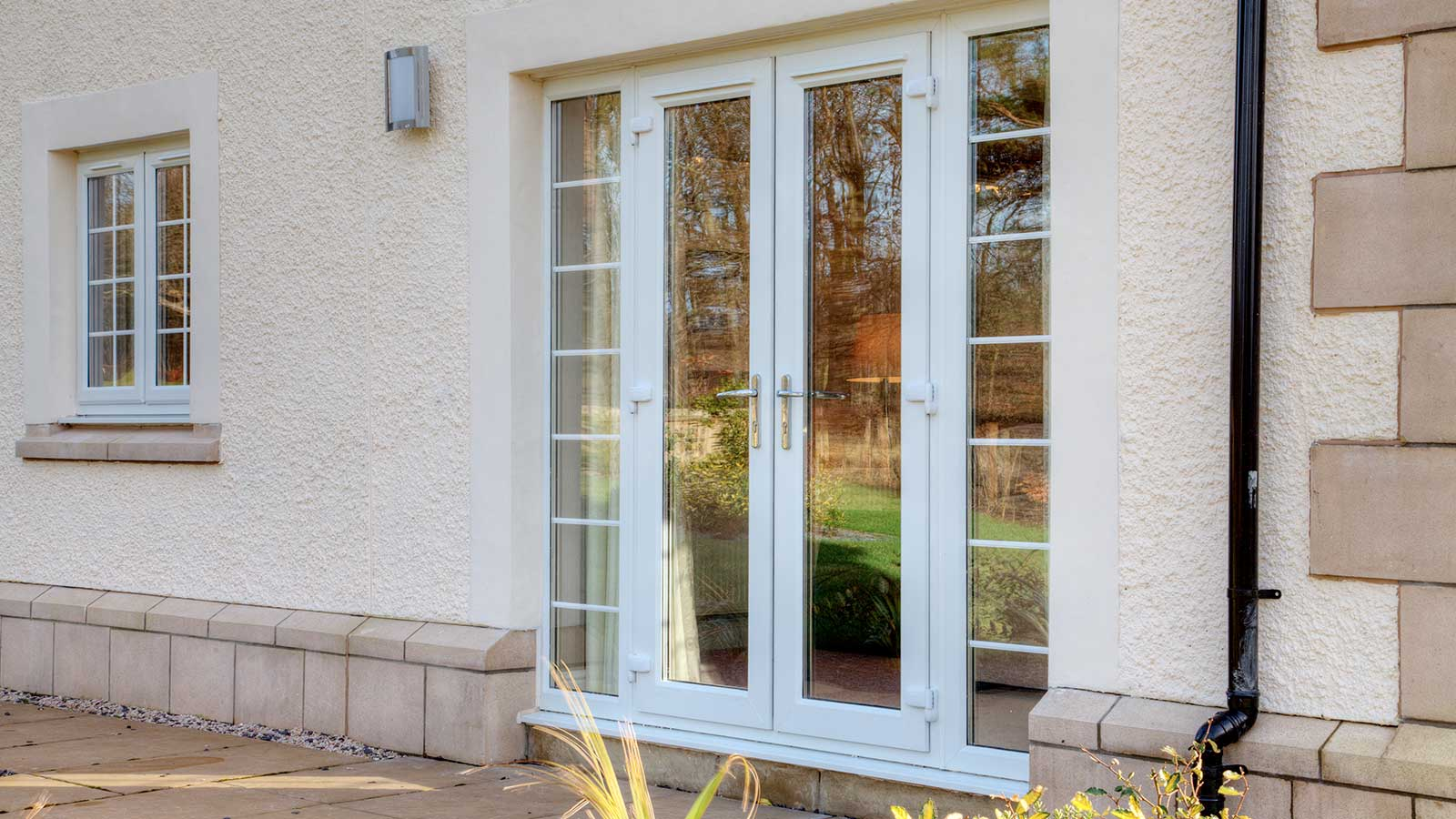 Glass garden doors here are some of the best designs jack of glass for How to install upvc french doors exterior
