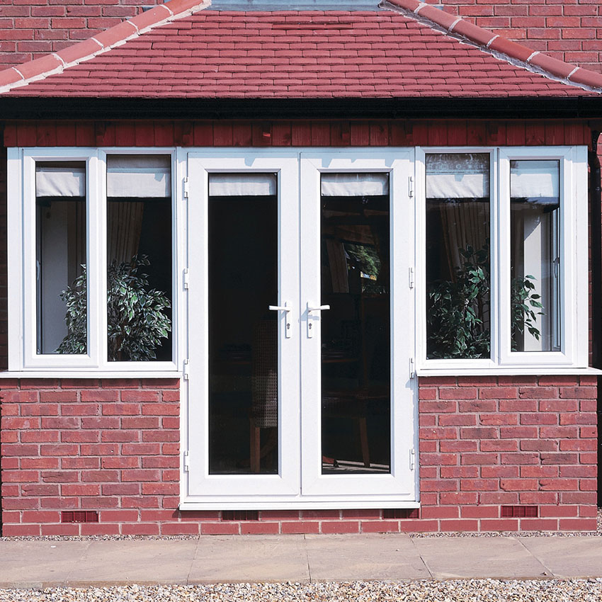 White uPVC French Doors Buckinghamshire