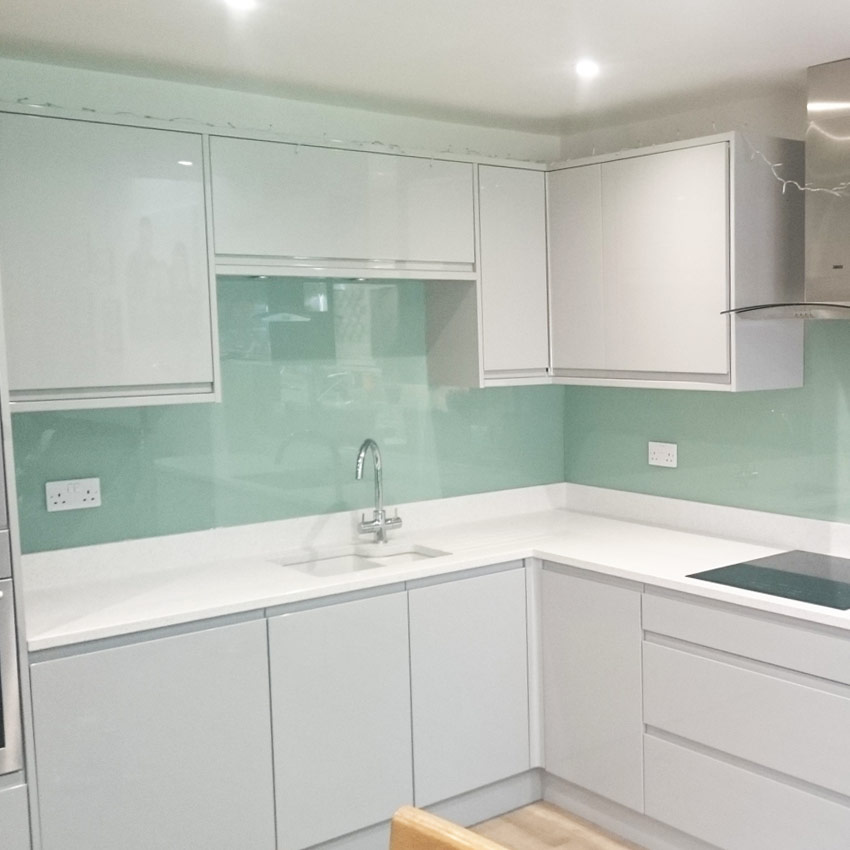 Glass Kitchen Splashback High Wycombe