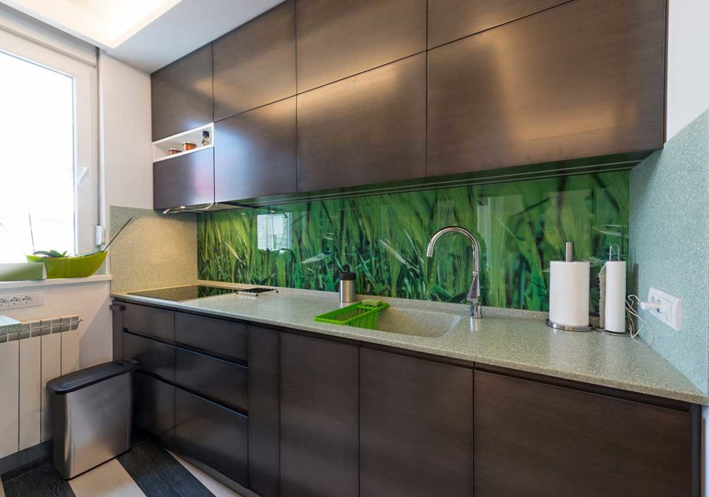 Patterened Glass Splashbacks High Wycombe